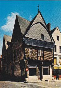 Photographie de la maison de l'Ave Maria de Montrichard