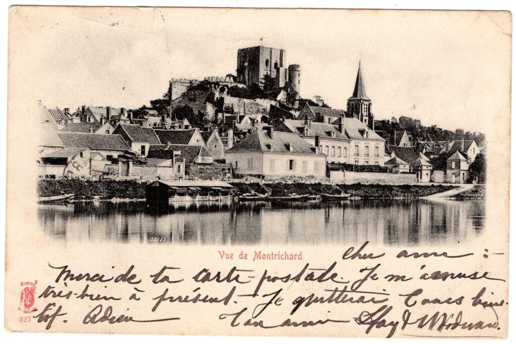 Forteresse de Montrichard avant 1940