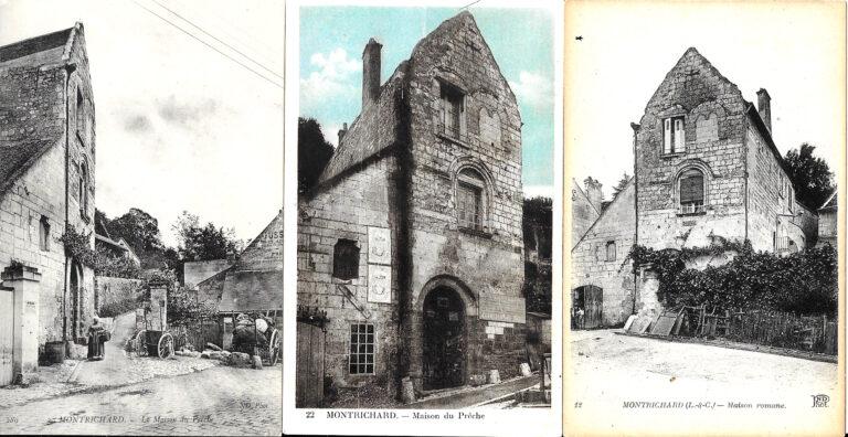 Maison du prêche Montrichard cartes postales