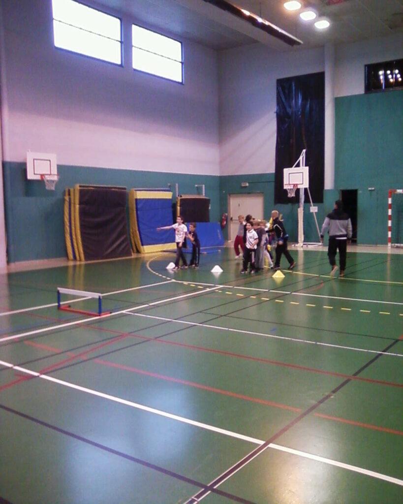 Sport au gymnase de Montrichard