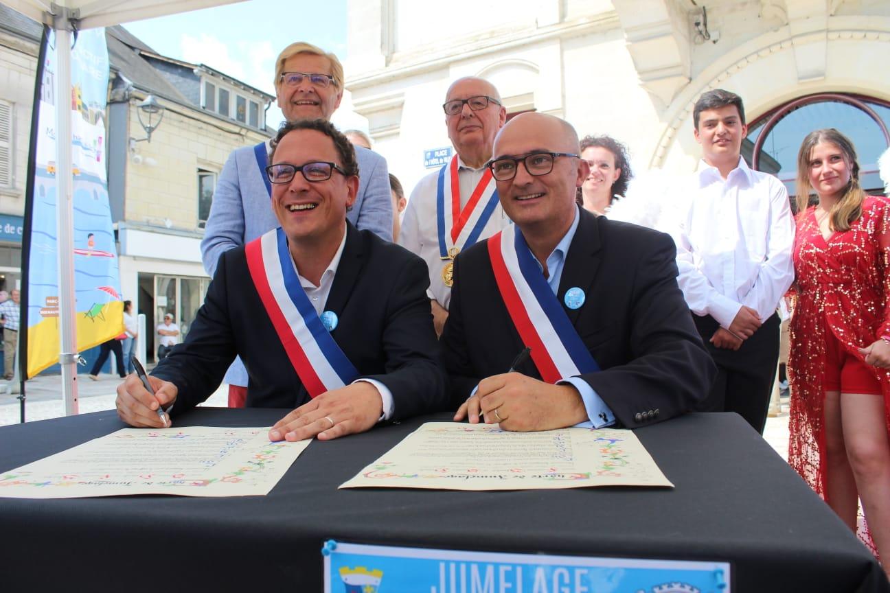 Jumelage avec Saint-Gilles-Croix-de-Vie