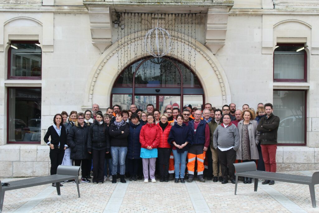 Photo des agents municipaux de Montrichard Val de Cher