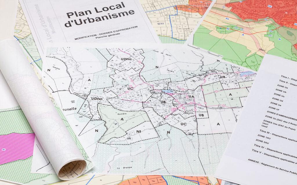 Cartes communales d'urbanisme