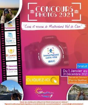 Affiche du concours photo 2021 de Montrichard