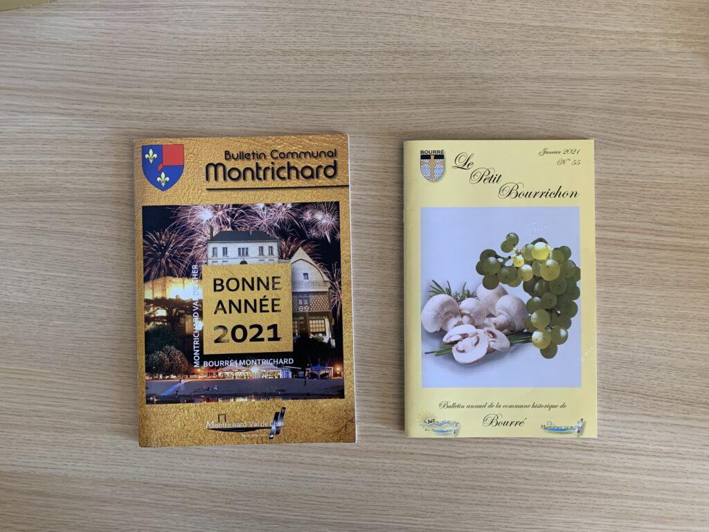 Bulletins communaux de Bourré et de Montrichard
