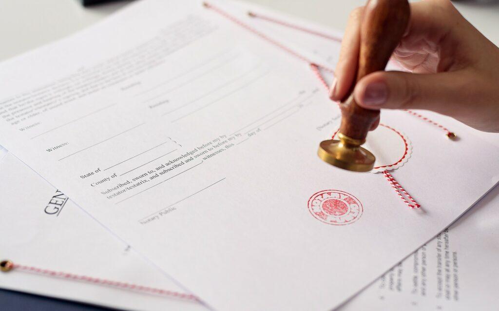 Certification de signature