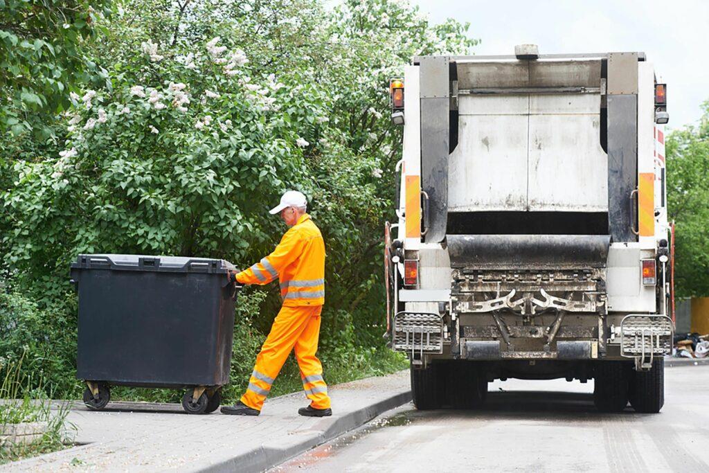 Collecte des déchets à Montrichard