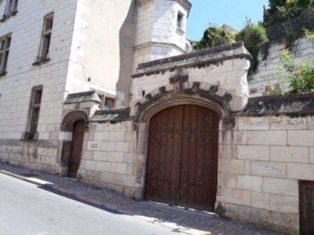 Hôtel d'Effiat côté rue des caves