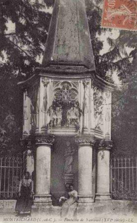 La fontaine de Nanteuil de Montrichard au XVIe siècle