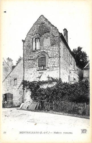 Ancienne carte de la maison du prêche de Montrichard