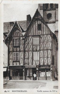 Vieilles maisons de Montrichard au XVe siècle