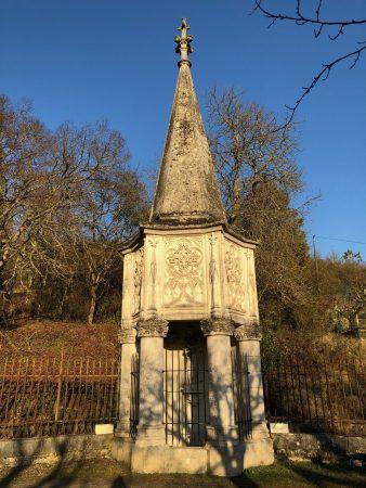 La fontaine de Nanteuil actuelle de Montrichard