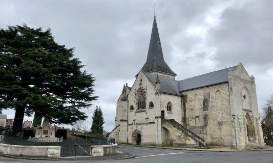 Photographie de l'église de Nanteuil actuelle