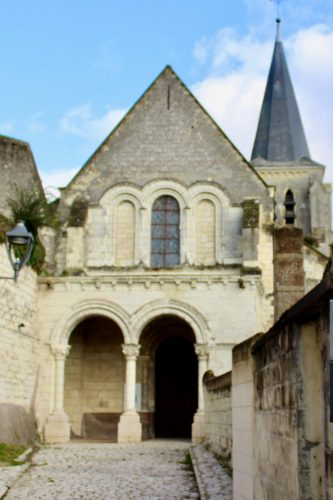 Photographie de l'église Sainte-Croix actuelle
