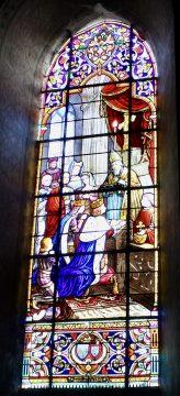 Vitraux de l'église Sainte-Croix de Montrichard