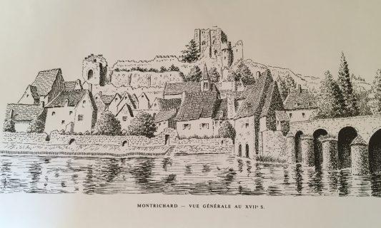Pont du donjon de Montrichard au XVIIe siècle