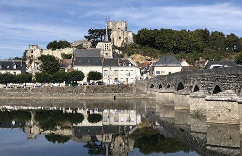 Le pont et le château de Montrichard