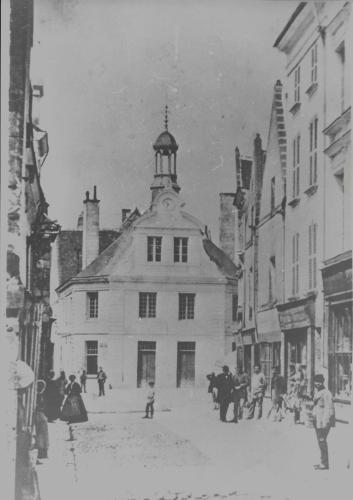 La mairie de Montrichard avant 1887