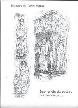 Poteau Cornier Ave Maria