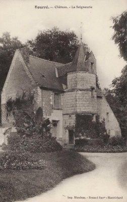 Ancienne photographie de la seigneurie de Bourré