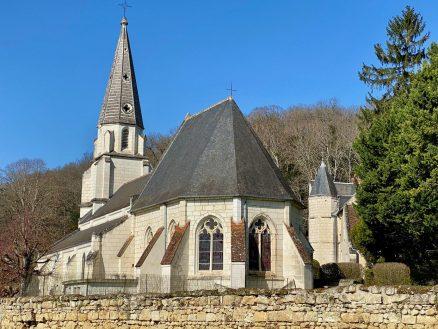 L'église Saint-Germain de Bourré