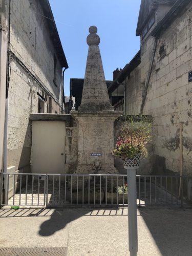 La fontaine saint Celerin