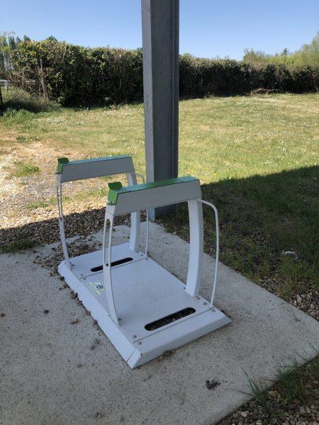 Borne pour vélo électrique