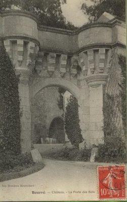 La porte des rois de la seigneurie de Bourré