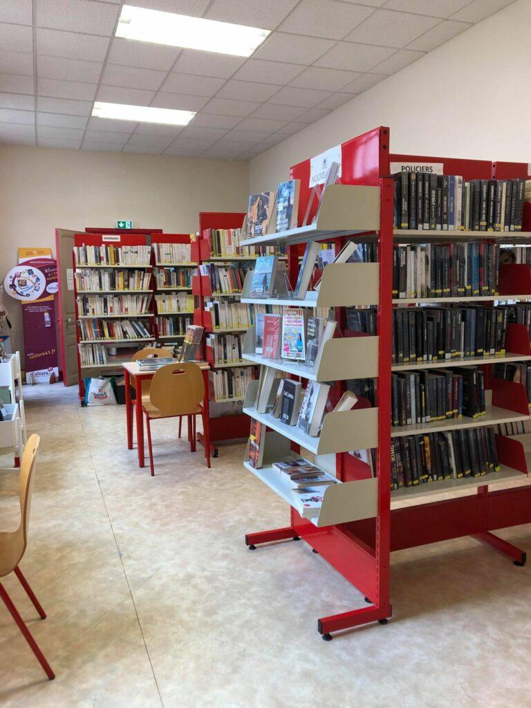 Rez de chaussée de la bibliothèque de Montrichard Val de Cher